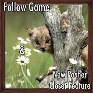 Other - New Posher Closet Feature and Follow Game